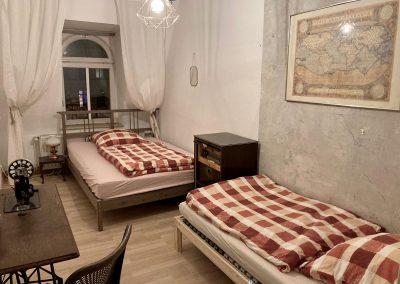 Monteurzimmer mit 2 Einzelbetten